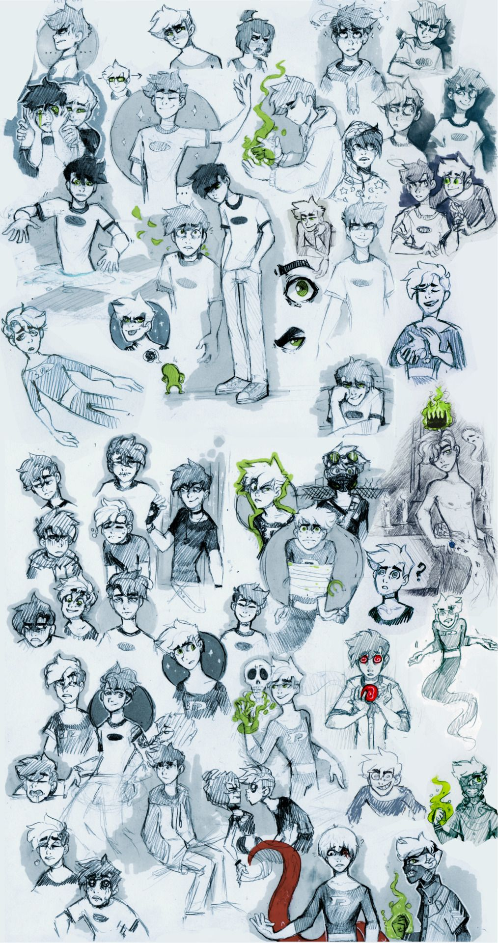 "vongrell: ""Danny Phantom sketch dump! ;3; """