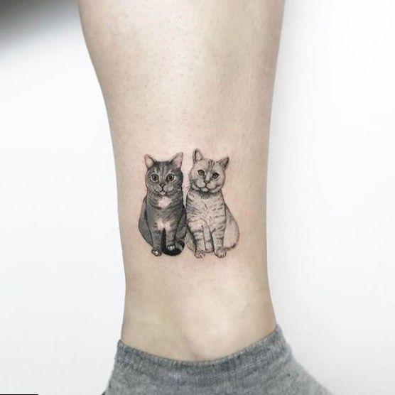Designtattoo Tattoo Kitty Paw Tattoo Tattoo Ink Paper Red Fish