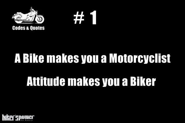 The Attitude Bike Quotes Biker Quotes Motorcycle Quotes