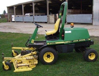 Deere Front Mower: F1145 Workshop Service Manual (tm1519)
