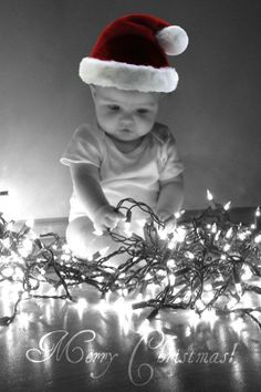 Delightful What A Cute Christmas Card Idea! Baby Baby Baby