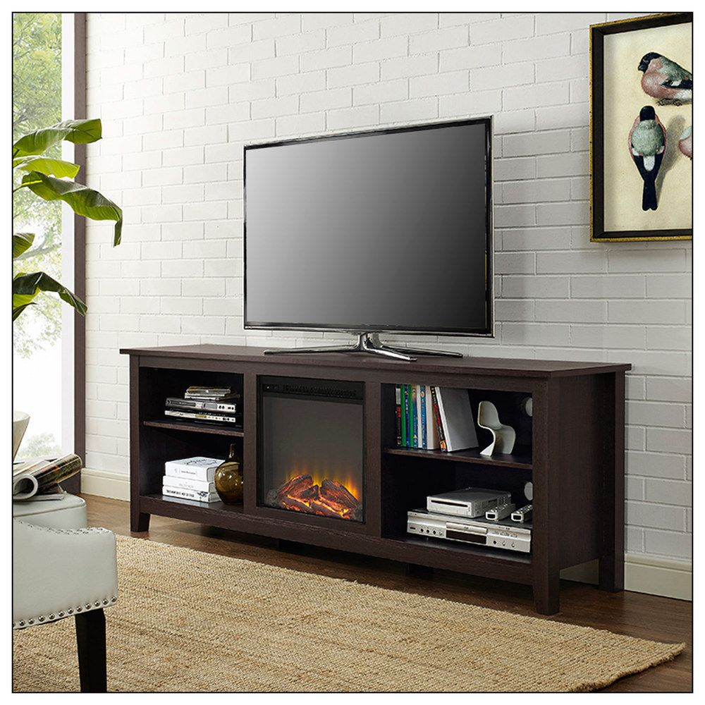 Classic flame belmont 60 quot tv stand with electric fireplace - Walker Edison Electric Fireplace For Most Flat Panel Tvs Up To Electric Fireplace Flat Panel Amazoncom Classicflame 28mm6240 O128 Belmont Tv Stand