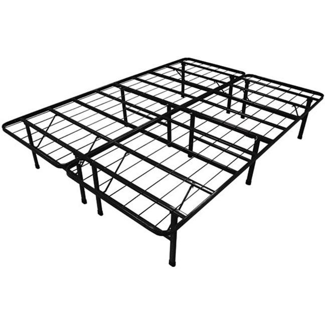 Queen Steel Folding Metal Platform Bed Frame Metal Platform Bed