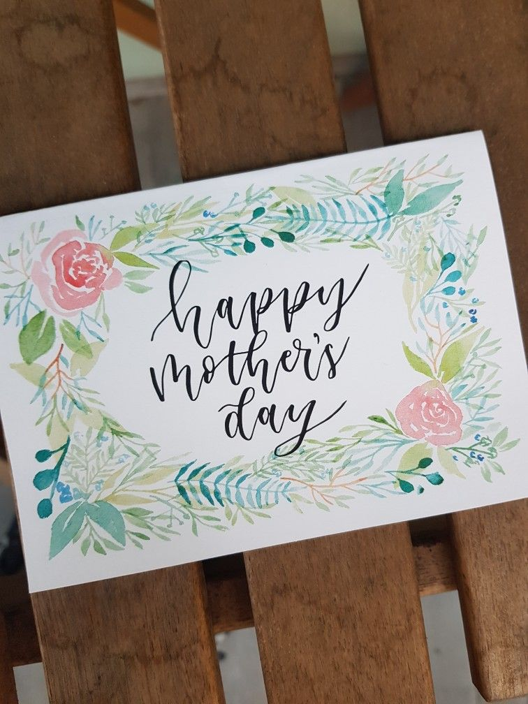 Happy mothers day card happy mothers day card greeting