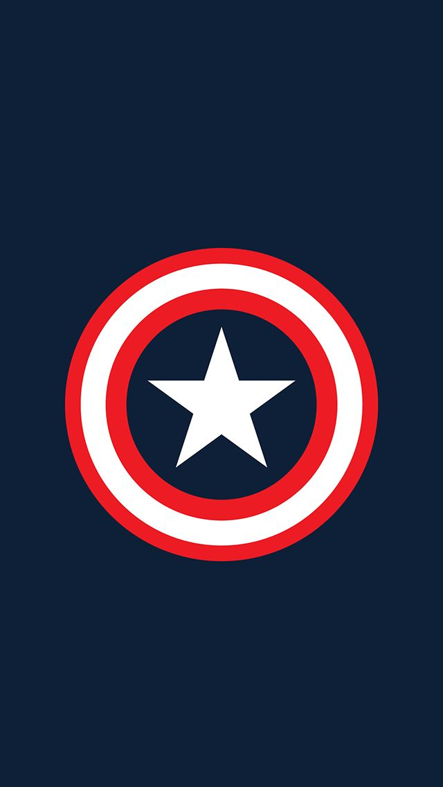 Capitain America Logo Fur Iphone 5 Hintergrundbilder Captain America Wallpaper Marvel Wallpaper Avengers Wallpaper