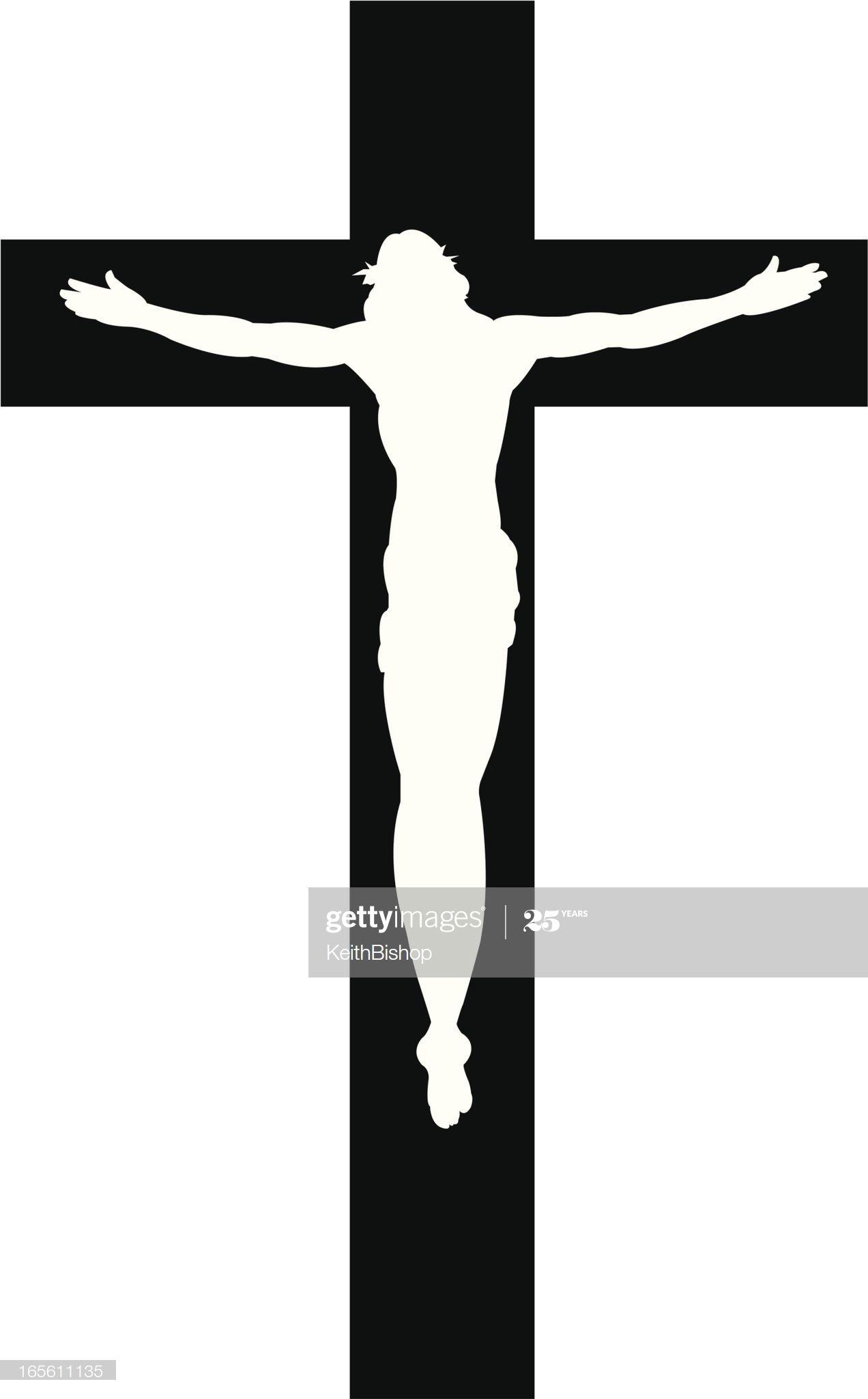 Ilustracion De Stock Cruce De Jesus Christ Cristian Religion Silueta La Cruz De Jesus Cruz De Cristo Imagenes De Cruces
