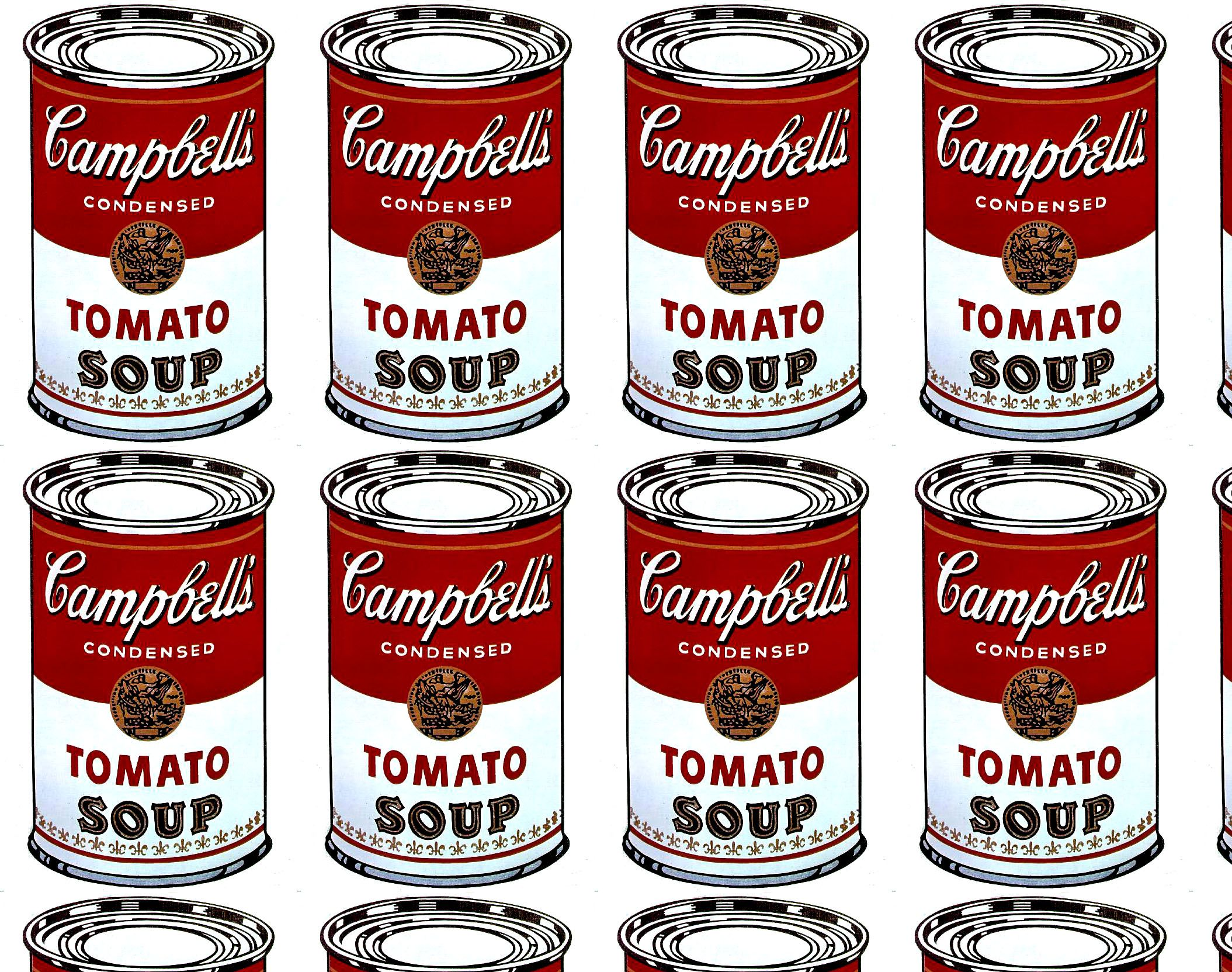 campbell soup warhol | Art | Pinterest
