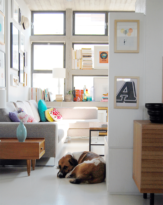 Cush and Nooks: The Home of a Graphic Designer- Tomy Karaiskos love ...