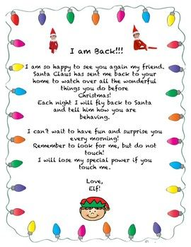 welcome this cute little elf back into your home let him get into