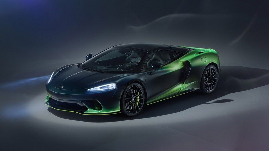 Look Out Mansory Mclaren Special Operations Debuts Verdant Theme