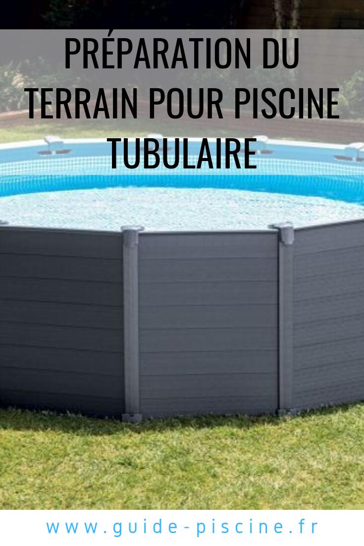 Preparation Du Terrain Du Sol Pour Pose D Une Piscine Tubulaire Piscine Tubulaire Installation Piscine Piscine