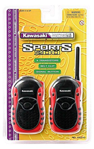 Kidztoyz Kawasaki Sports Style Walkie Talkies Check This Awesome Product By Going To The