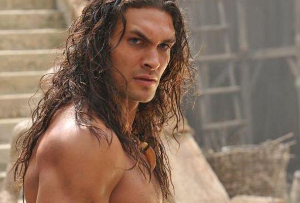 jason momoa   Melhor mau actor - Jason Momoa em Conan the Barbarian .