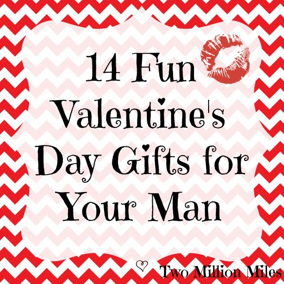 Fun Valentine's Day Gifts for Your Man