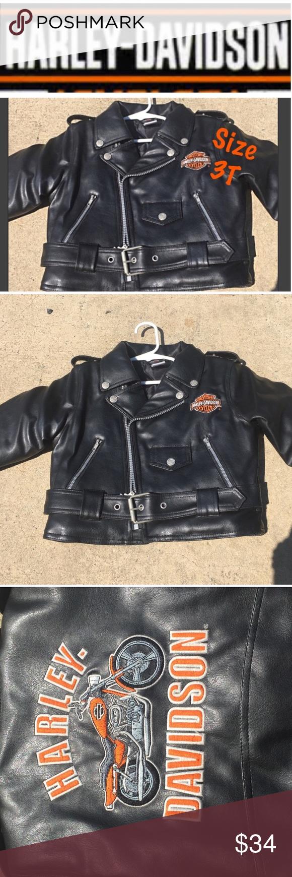 Toddler Harley Davidson Leather Jacket 3t Toddlers Harley Davidson Leather Jacket Size 3t Harley Davidson Leather Jackets Harley Davidson Jacket Leather Jacket [ 1740 x 580 Pixel ]