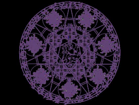 七芒星の魔法陣 魔法陣 魔法円 魔方陣
