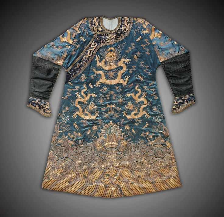 f60a3bfca Chinese Silk Robes | Silk Art, Silk Embroidery Silk Art, Ethnic Dress, Qing