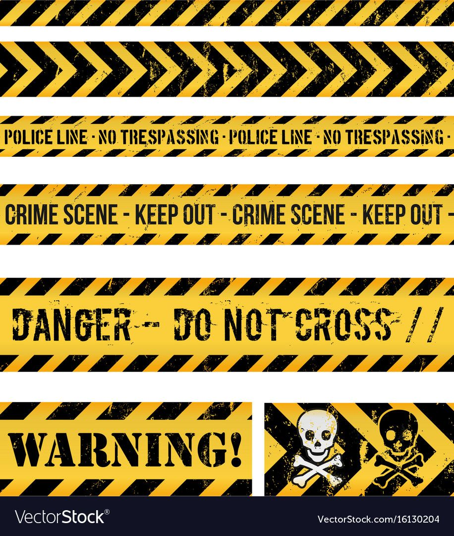 Police Line Crime And Warning Seamless Tapes Vector Image Spon Crime Warning Police Line Ad Desain Kreatif