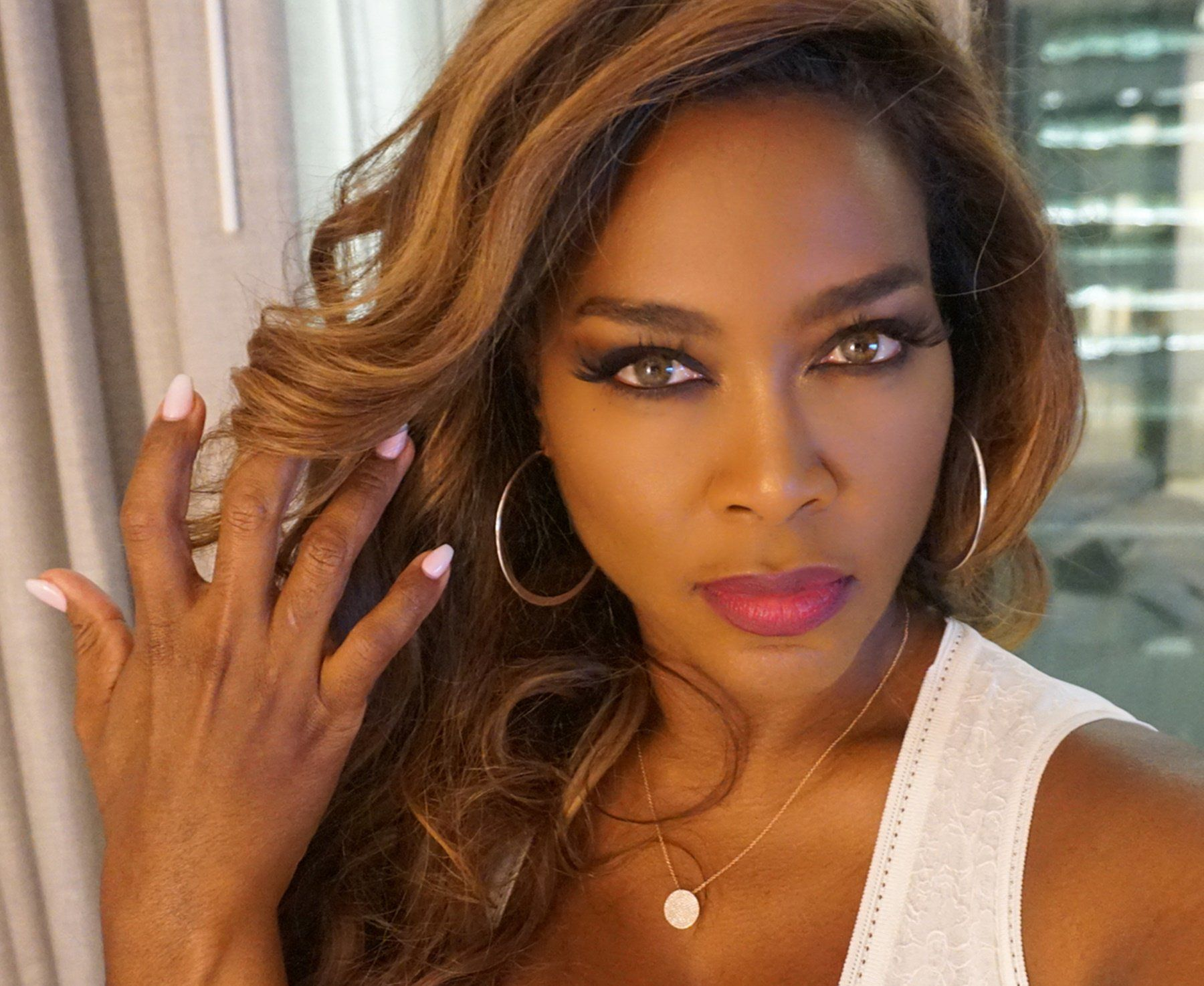 Kenya Moore Ignores Theme Of Kandi Burruss' Party — Some