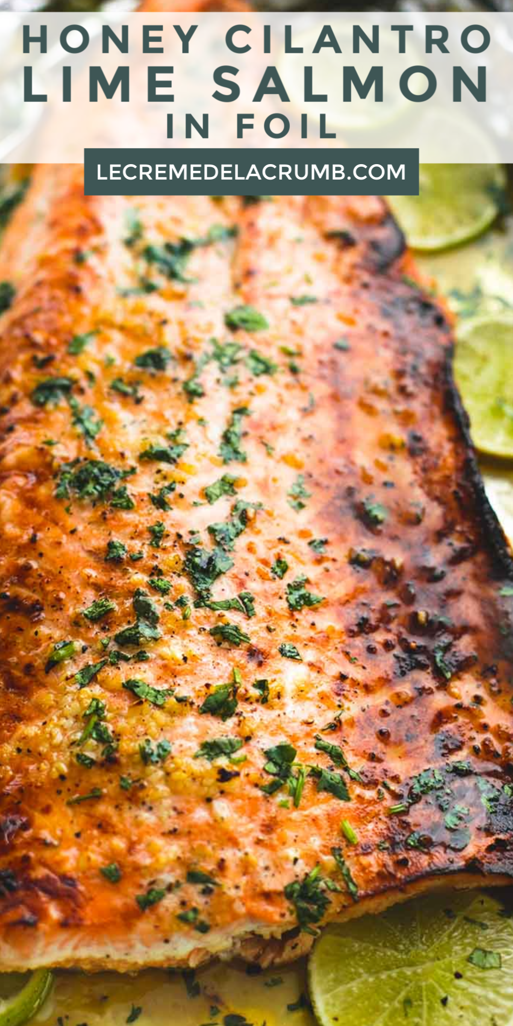 Photo of Honey Cilantro Lime Salmon In Foil
