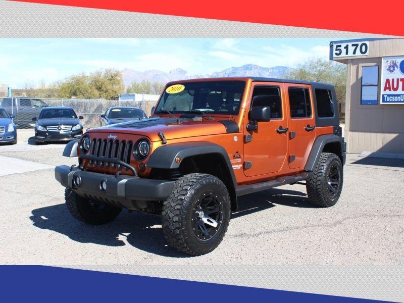 2010 JEEP WRANGLER UNLIMI SPORT Goliath Auto Sales LLC