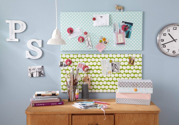 Dekoideen Landhausstil Selber Machen : Decorative Magnetic Board