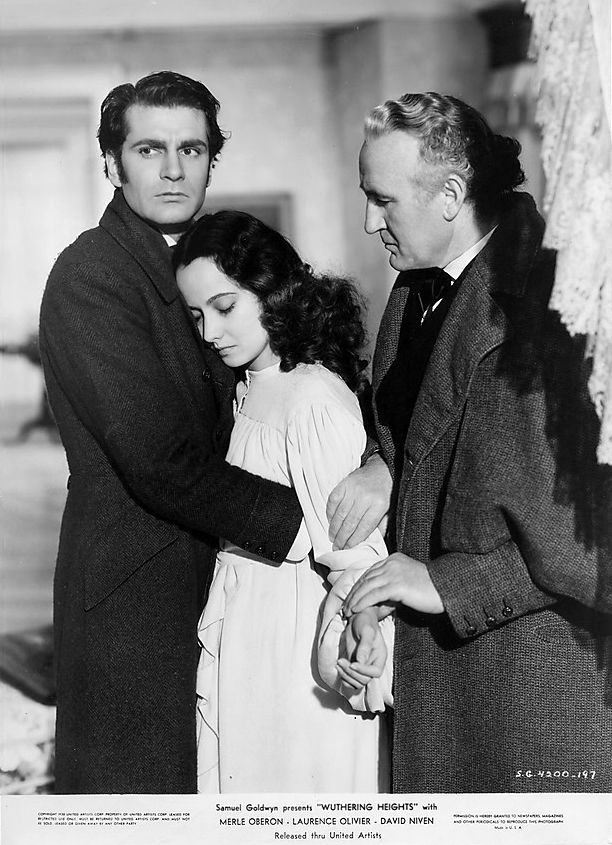 Laurence Olivier and Merle Oberon Wuthering Heights (William Wyler ...