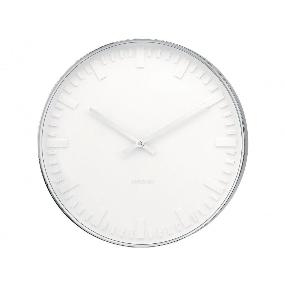 Karlsson mr white station 375cm wall clock ka4384 hurn hurn karlsson mr white station 375cm wall clock ka4384 hurn hurn amipublicfo Image collections
