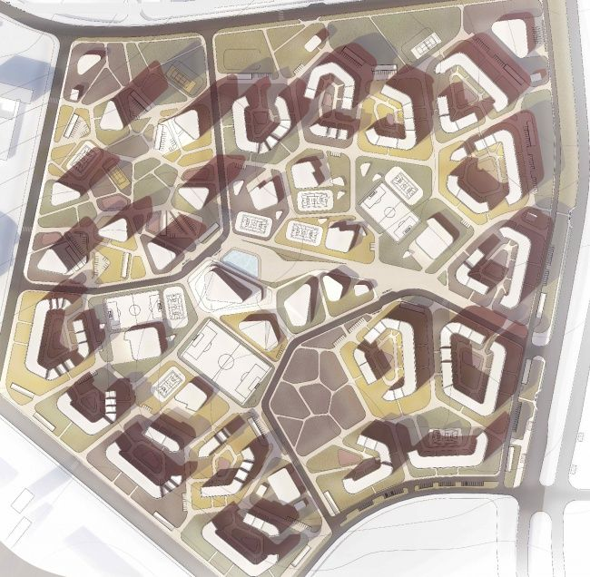 Bellwether Landscape Architects In Atlanta Ga: Проект «Жилой район в Бескудниково». Город Москва. Автор