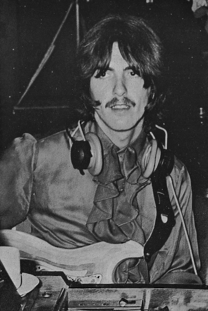 White Album Sessions 4 June 1968 Photo C Beatles Book Photo Library Beatles George Beatles Books George Harrison