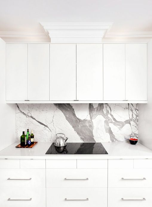 Kitchen Design Consultants Glamorous A Closeup Of The Statuario #marble #backsplash Fabricatedus Inspiration