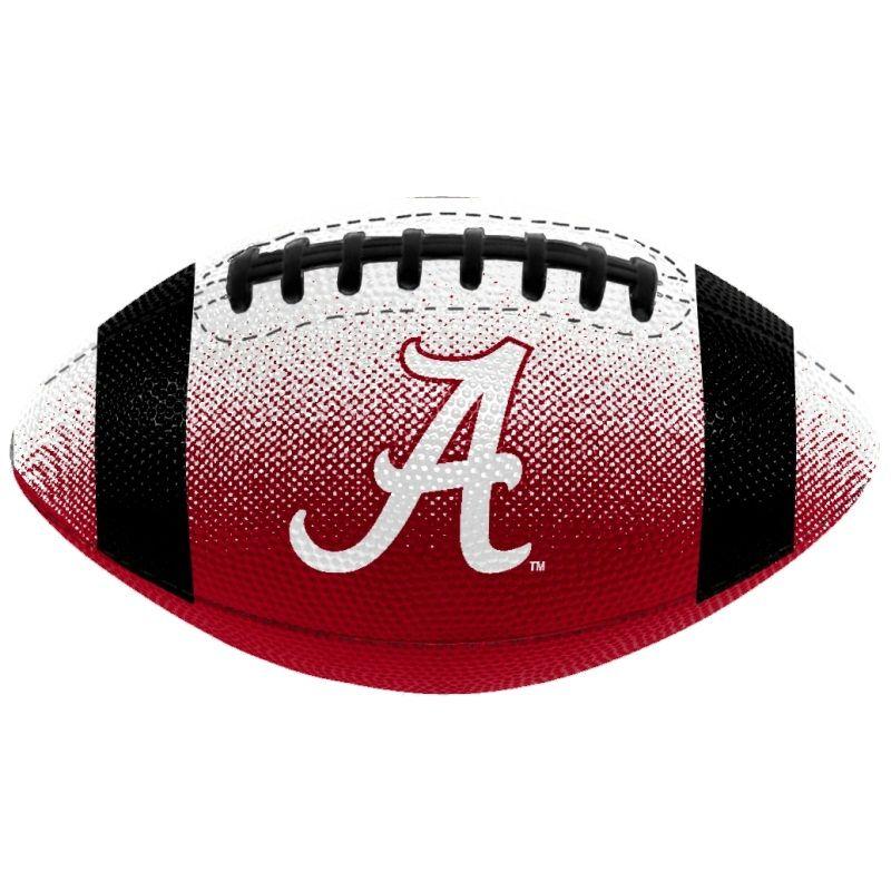 Ala Crimson Tide Football Alabama Crimson Tide Logo Mini Rubber