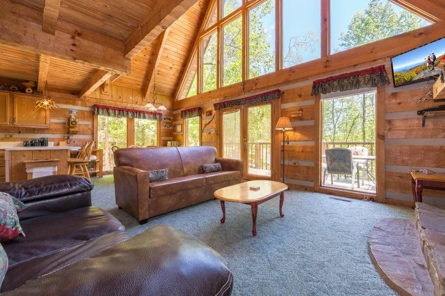 Snuggled Inn A Frame Homes In 2019 Smoky Mountain Cabin