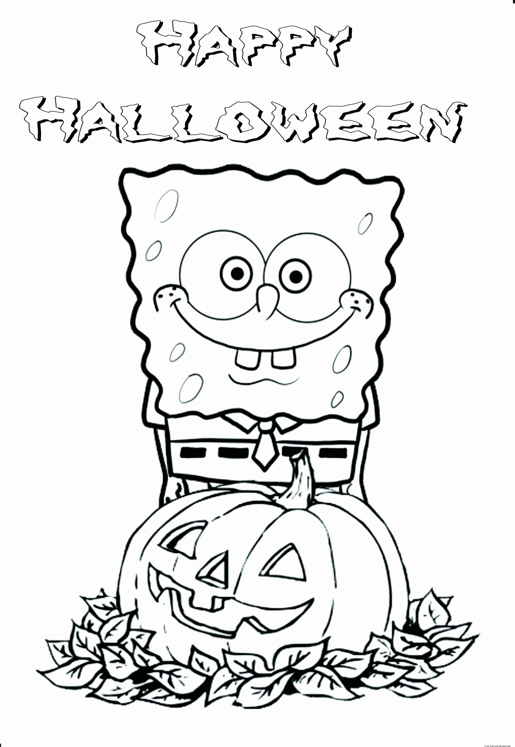 Free Halloween Coloring Sheets Best Of Coloring Pages Coloring Book Amazing Halloween Halloween Coloring Pages Spongebob Coloring Free Halloween Coloring Pages