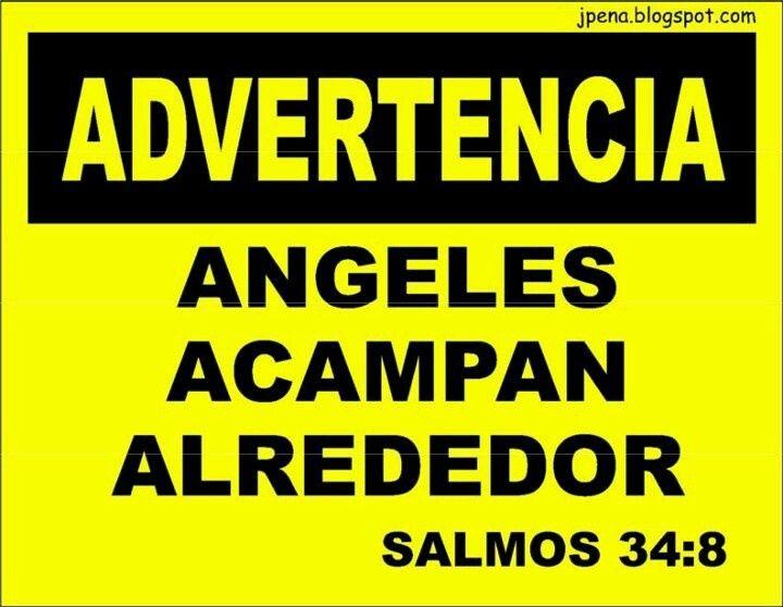 advertencia, angeles acampan alrededor