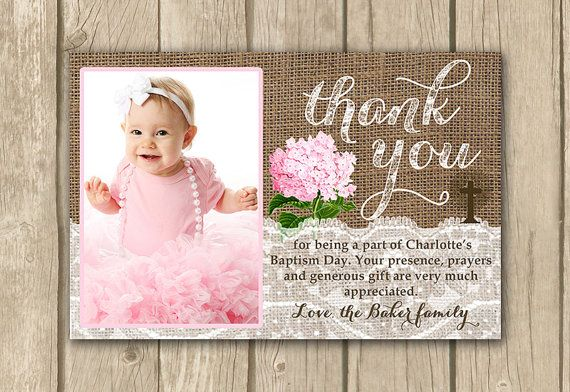 This Item Is Unavailable Etsy Baptism Thank You Cards Baptism Photos Thank You Card Wording