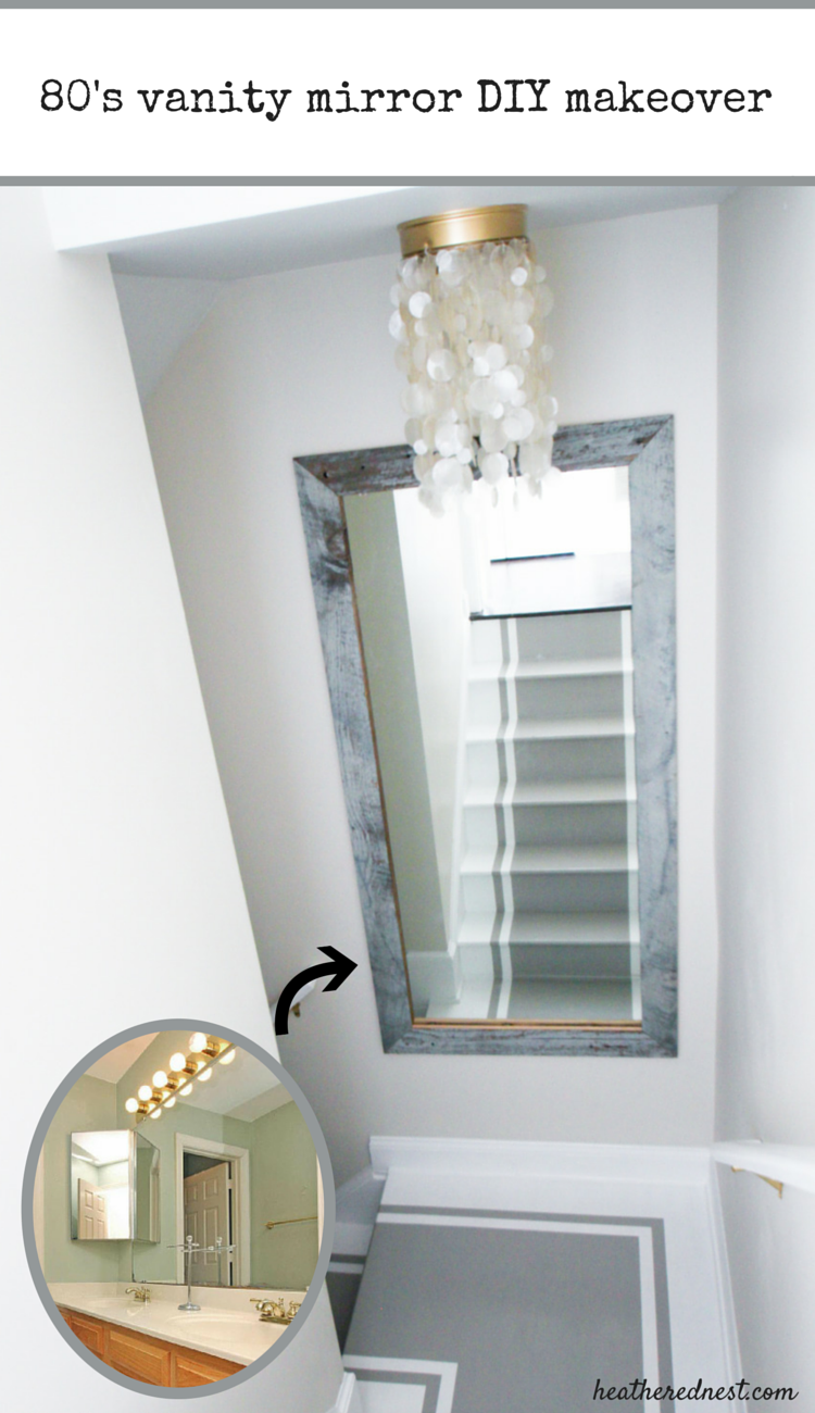 Mirror mirror off the wall diy mirror frame from old wood builder