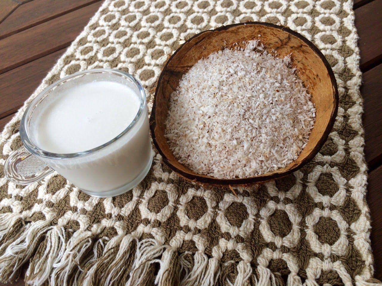 VitaleNutri - Nutrição Funcional: Leite de coco Caseiro