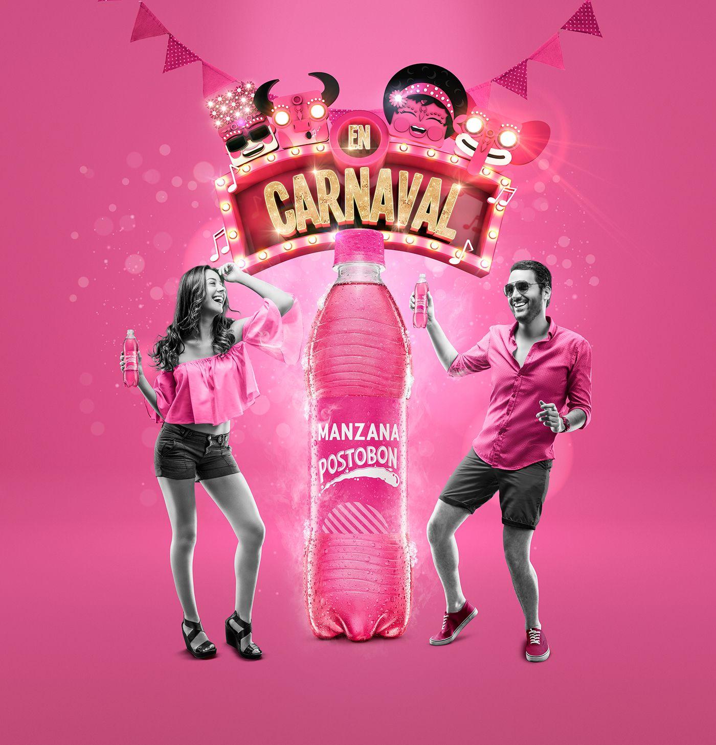 Carnaval de Barranquilla / Manzana Postobon on Behance