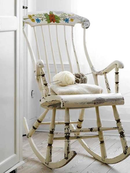 Pin de kely kely en mecedoras pinterest muebles shabby chic y estilo shabby chic - Sillones antiguos restaurados ...