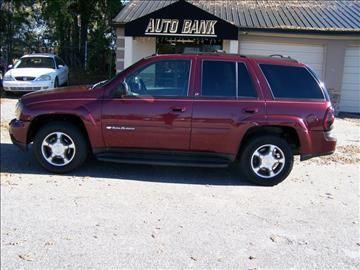2004 Chevrolet Trailblazer For Sale In Greenville Sc
