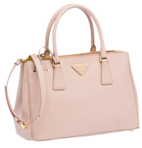 4b59b87cd0db Prada Saffiano Tote in Cameo. In love with this blush pink!! Favorite  color