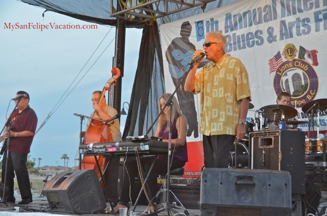 Nathan James performing at the 8th annual San Felipe Blues & Arts Fiesta held March 28th - 29th, 2014 #sanfelipe #sanfelipebluesandarts
