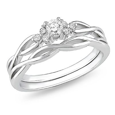 My dream engagement ring and wedding band set 3 16 CT TW