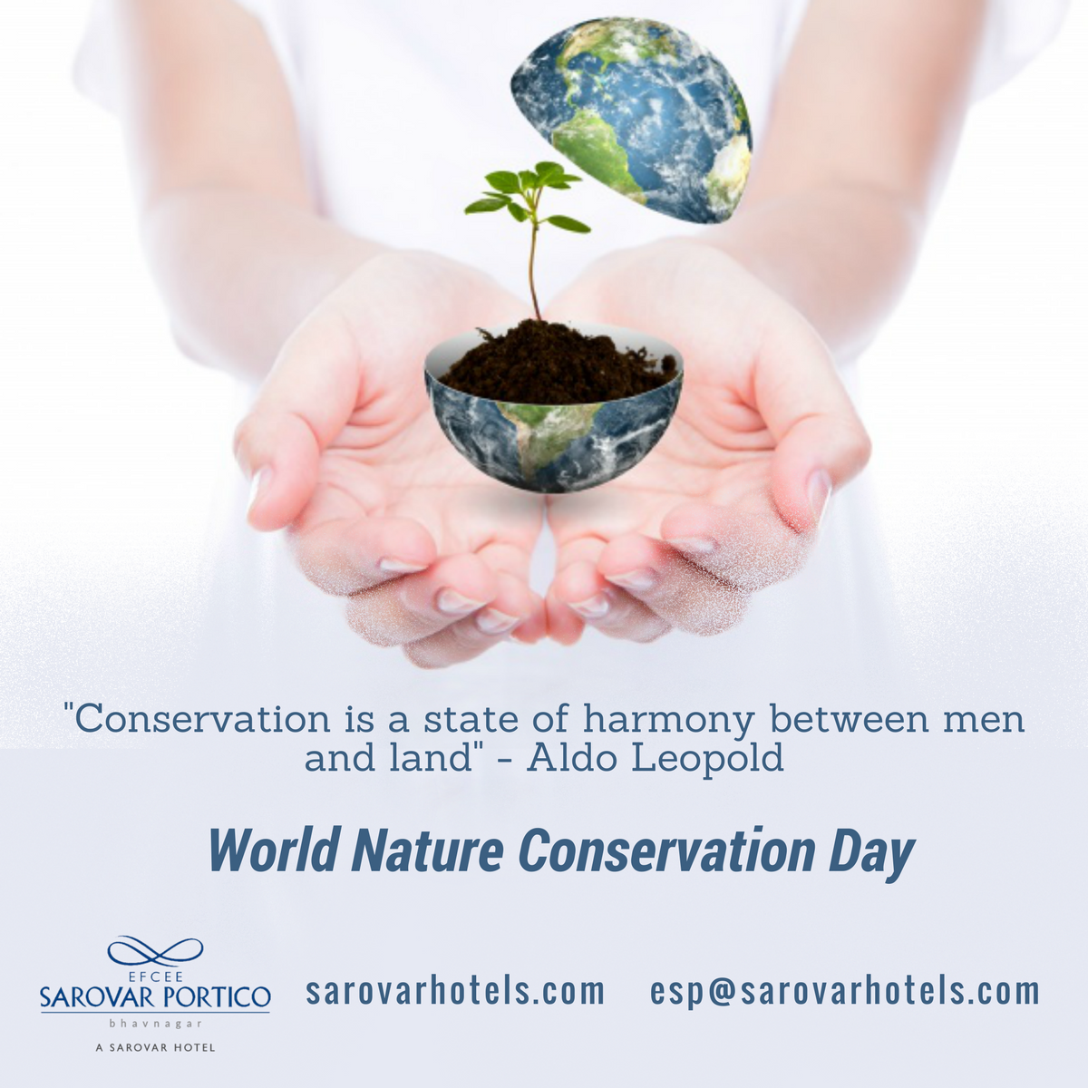 Celebrated On July 28 Each Year World Nature Conservation Day Recognizes That A Healthy Environment Healthy Environment Nature Conservation Natural Resources
