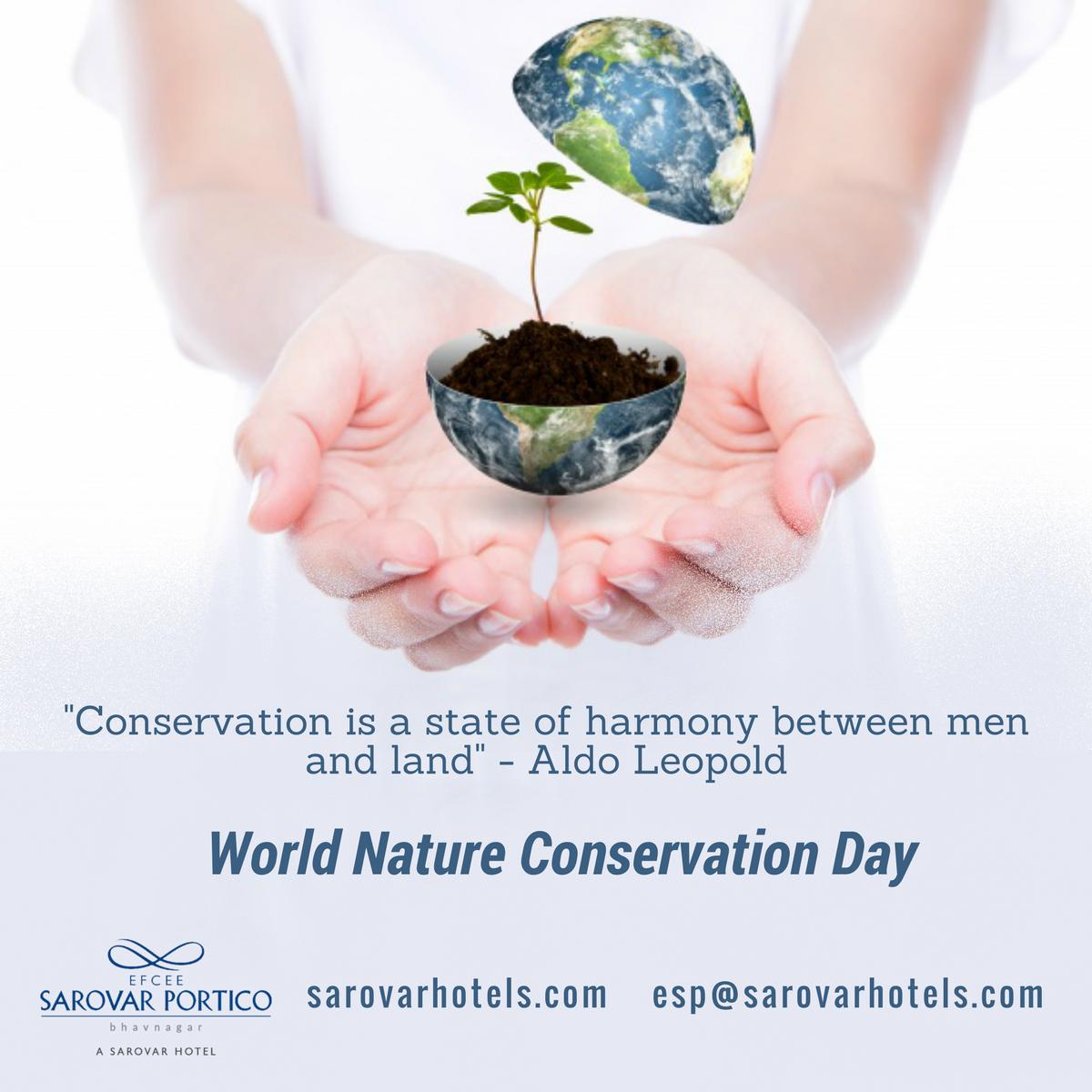 World Nature Conservation Day Keralagraminbank Kgb Natureconservationday Protectnature In 2020 Nature Conservation Nature International Day
