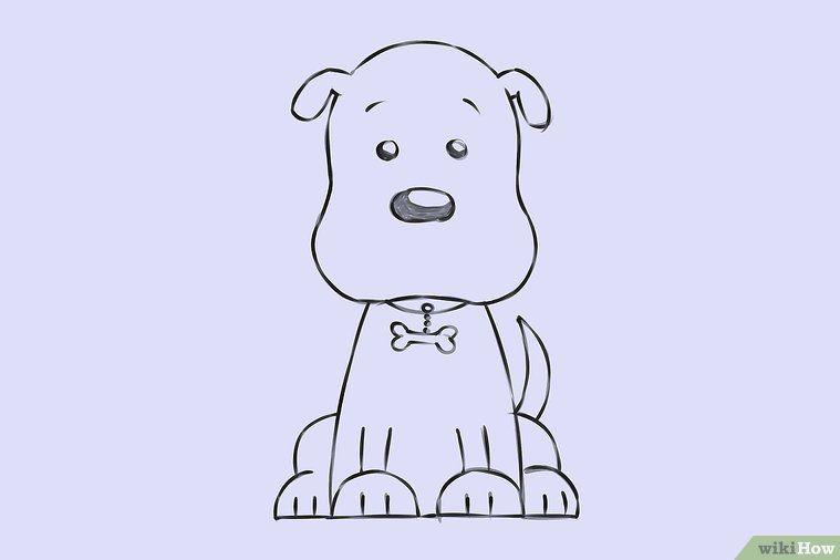 Einen Zeichentrick Hund zeichnen