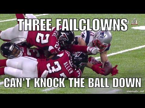 FAILCLOWNS LOSE SUPER BOWL LoL!!!