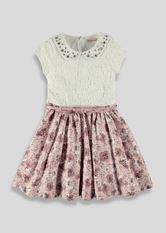 Matalan Girls Lace Print Dress (3-13yrs) on shopstyle.co.uk ...