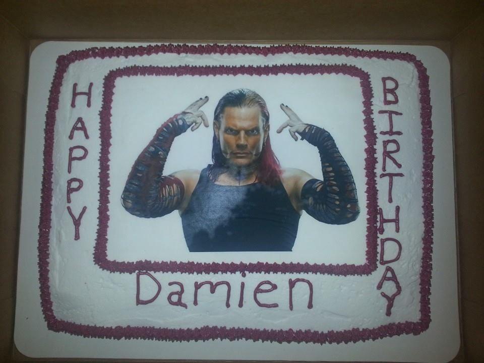 Jeff Hardy Cake With My Name Written On It Recipesbaking